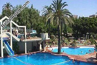 BENALMADENA,Benal Beach studio apartment with pool, direct