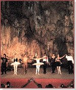 Dance festival at Nerja Caves