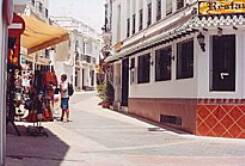 Nerja shopping street