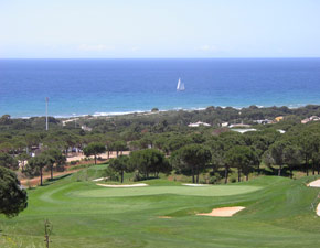 Golfing on the Costa del Sol