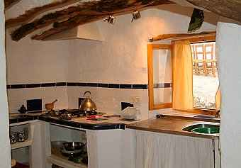 Kitchen with good cooking facilities