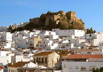 Views of the old Moorish Castle of Salobreña