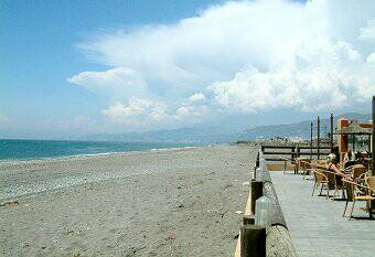 Motril Beach looking East