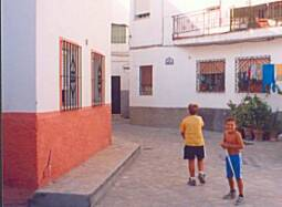 local children at play